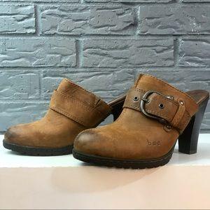 B.O.C Leather Mules